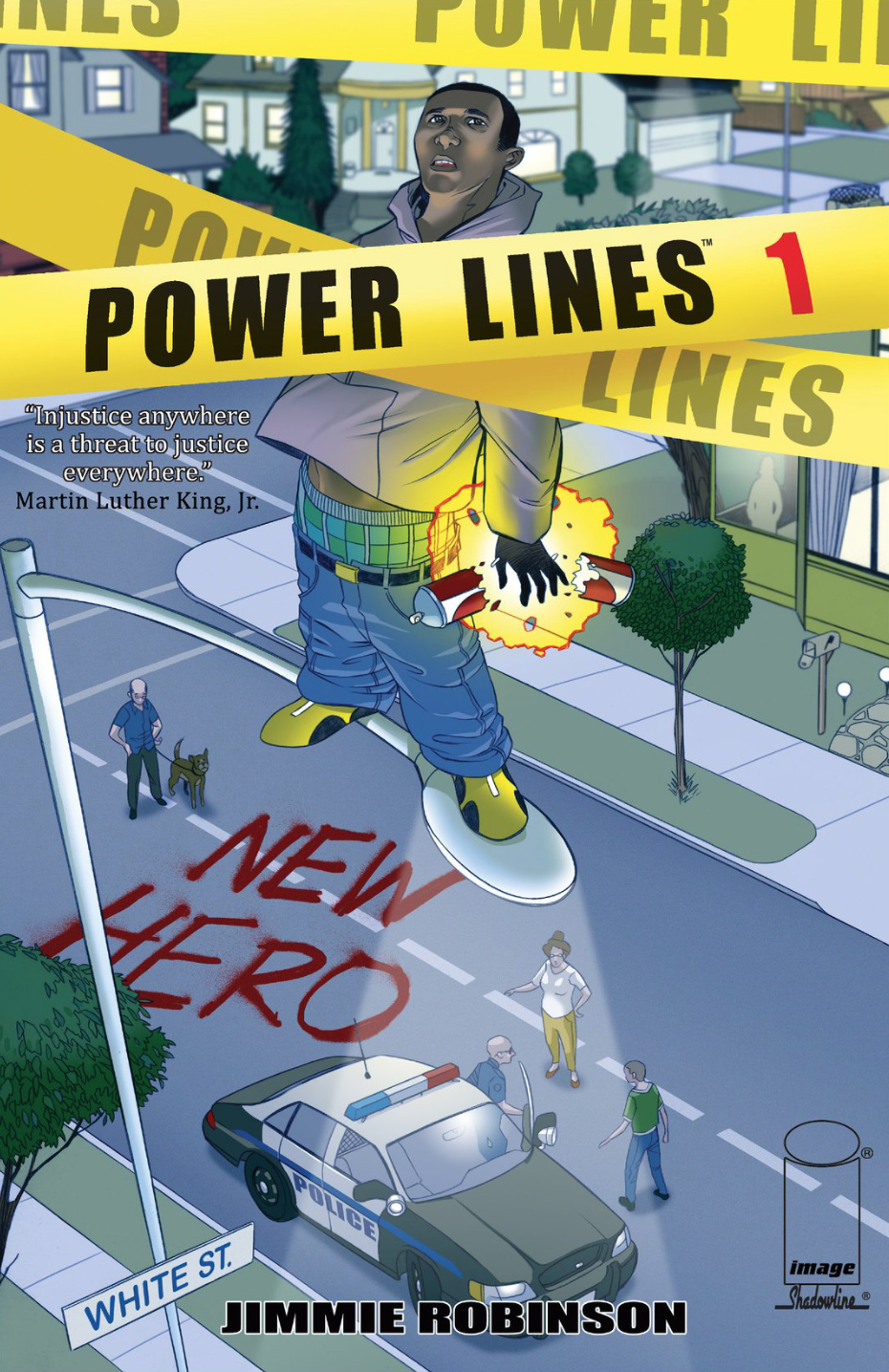 Out This Week, A Comic Book Where A Black Street Dude and A White Racist Get Superpowers