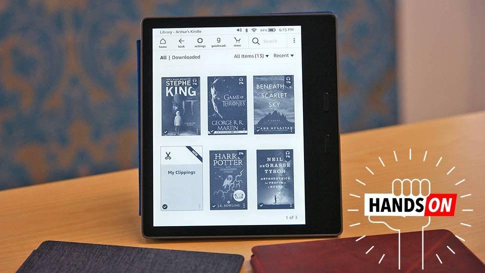 Amazon's New Kindle Oasis: The Gizmodo Hands On