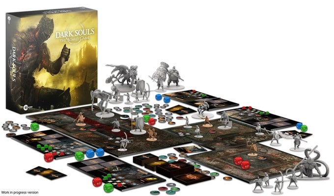 Crowdfunded Dark Souls Board Game Raises $US200,000 ($255,859) In Less Than Two Hours