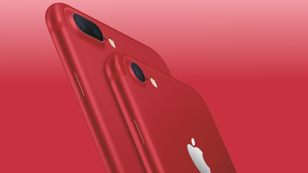 You Can Get A Red iPhone Now