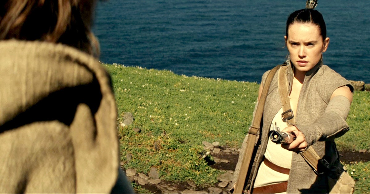 The Director Of Star Wars: Episode VIII Talks Luke's Plans And Rey's Potential