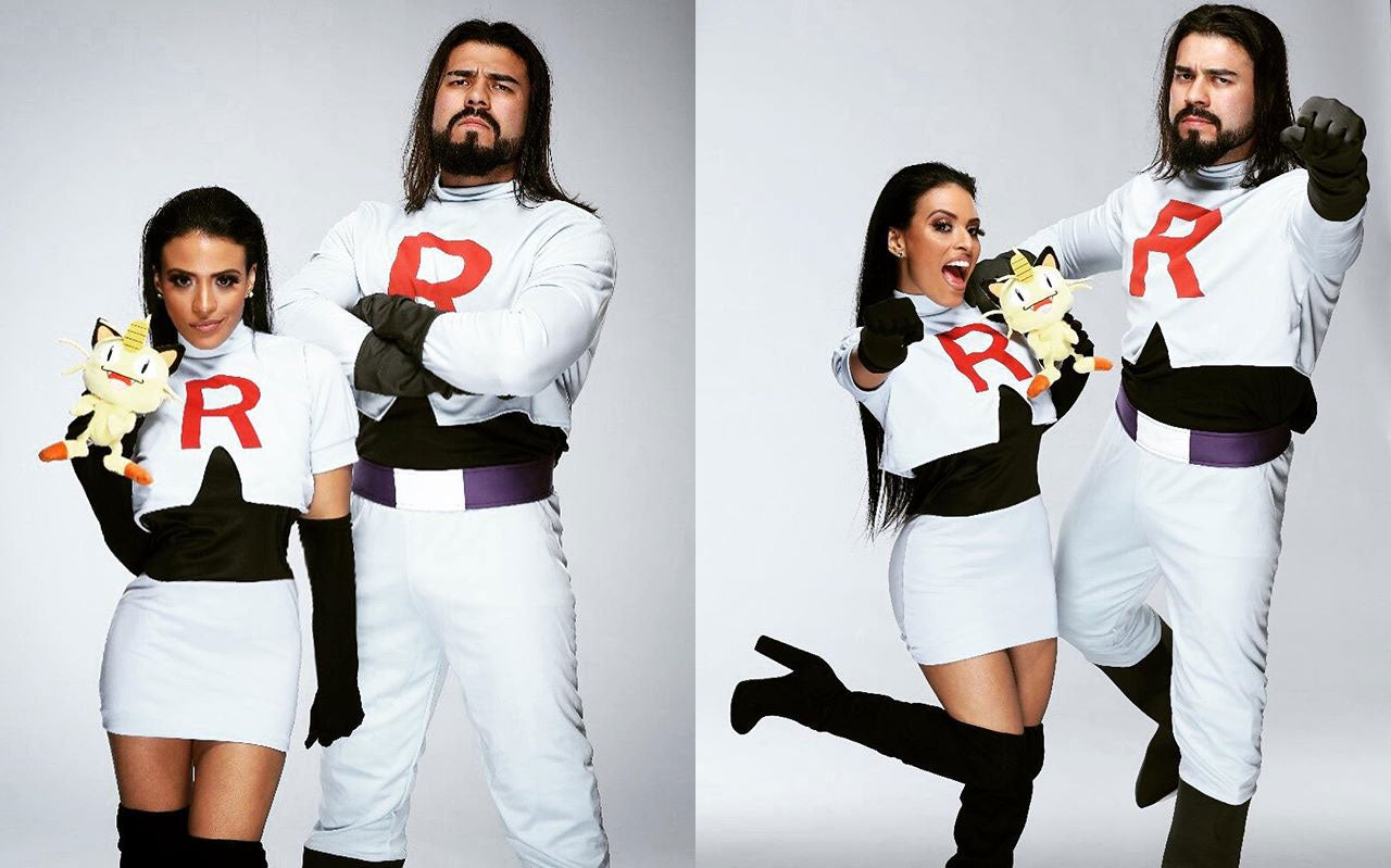 Just A Couple Of WWE Stars Cosplaying As Team Rocket