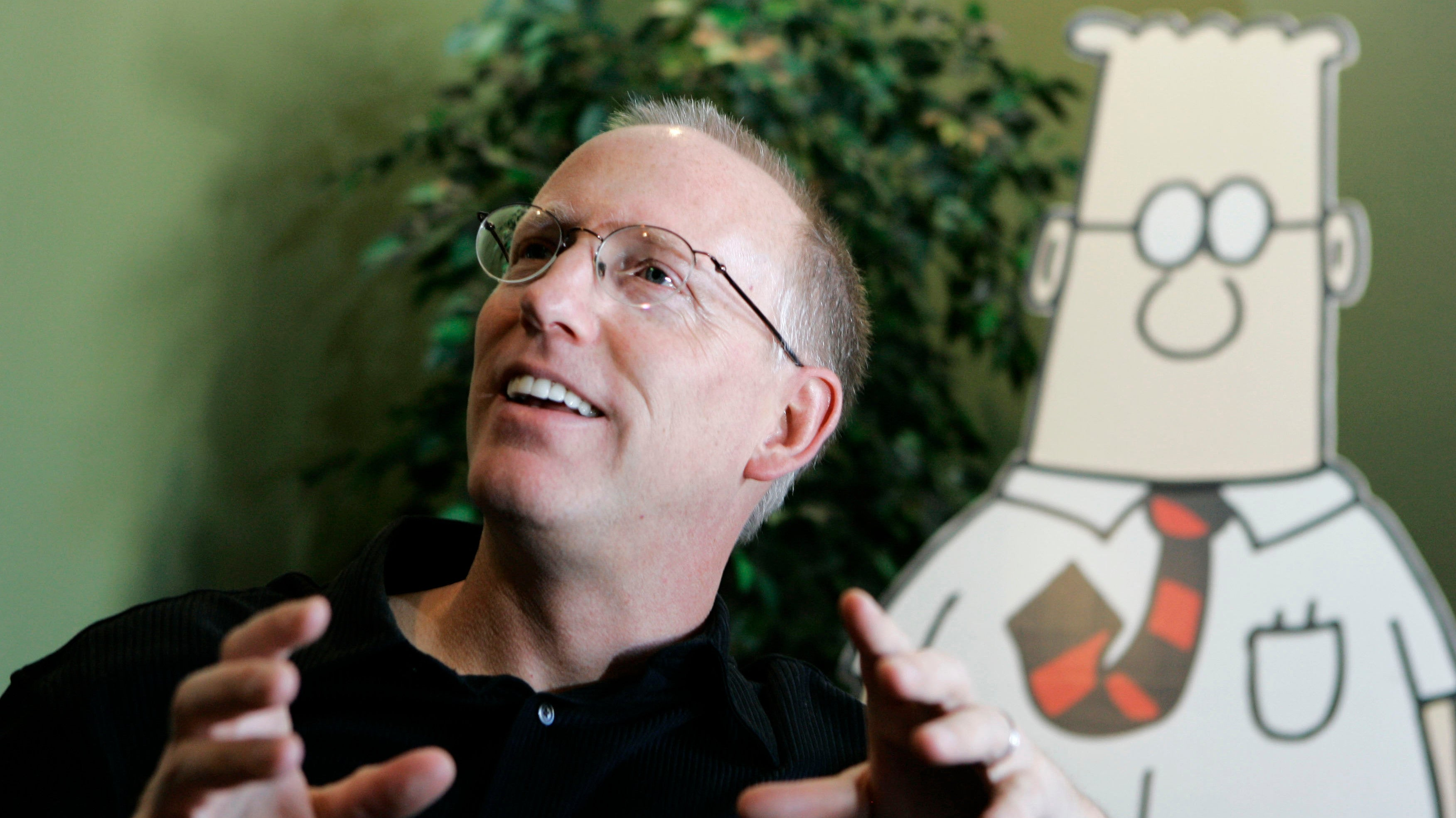Dilbert Creator Scott Adams Uses Mass Shooting To Promote His App