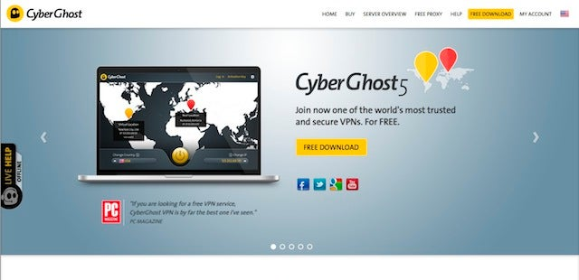 Five Best VPN Service Providers