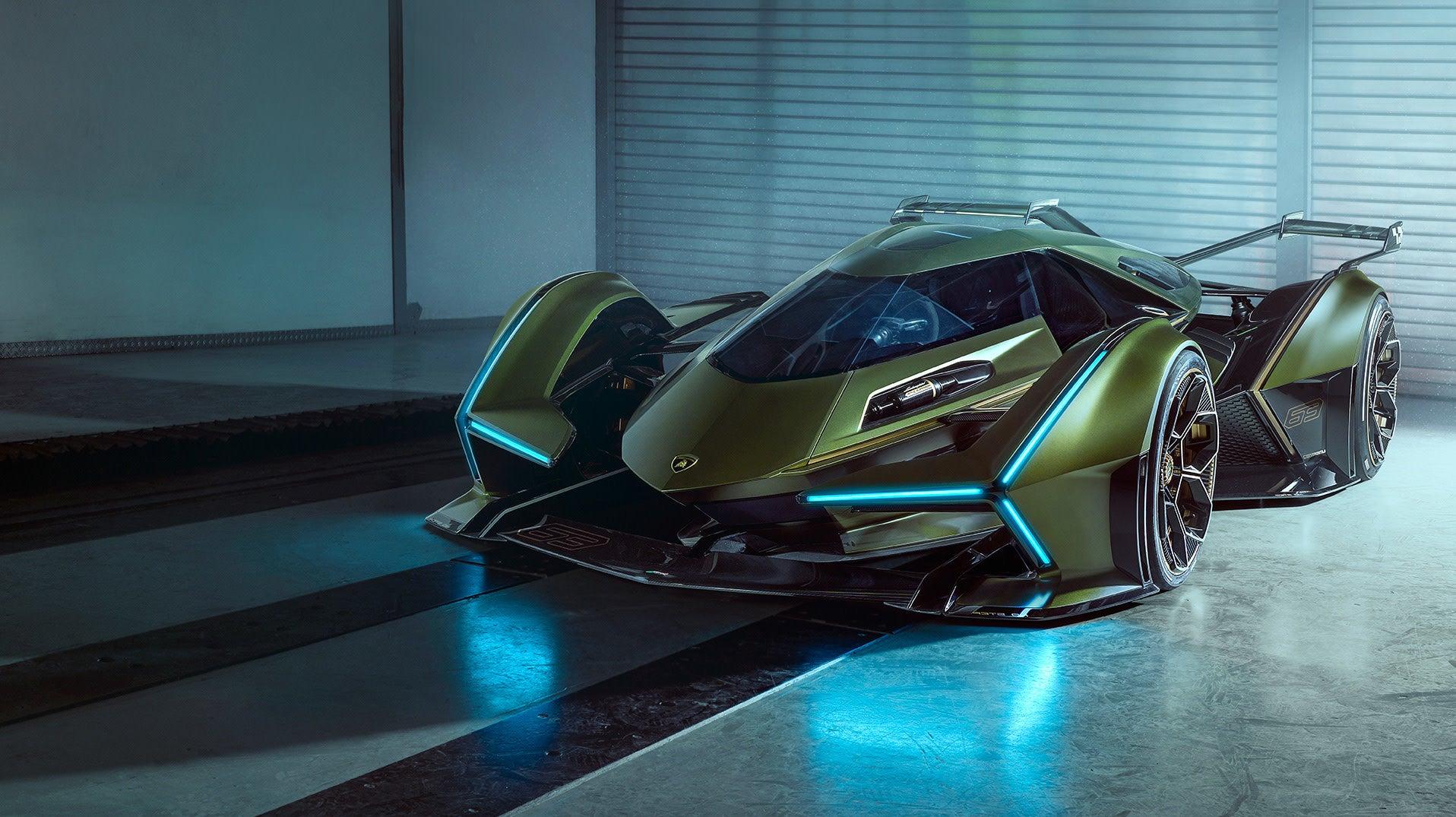 New Gran Turismo X Lamborghini Collab Looks Like A Batmobile From 2076