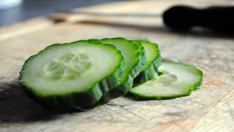 Cucumber Peels Make a Surprisingly Great Sandwich Spread