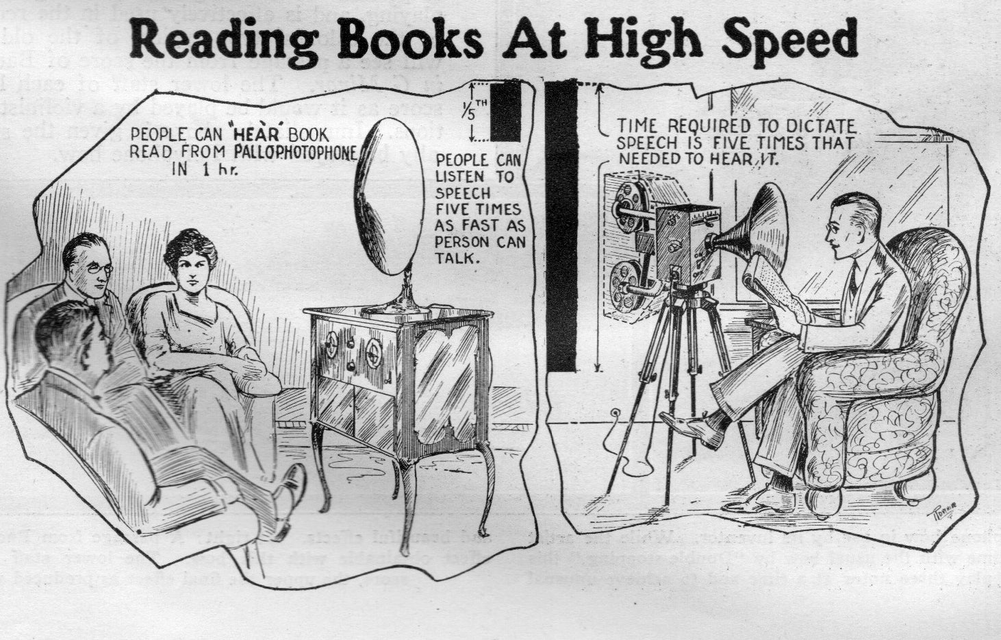 "This ""Electric Book Reader"" of 1927 Was The Future of Speed Reading"