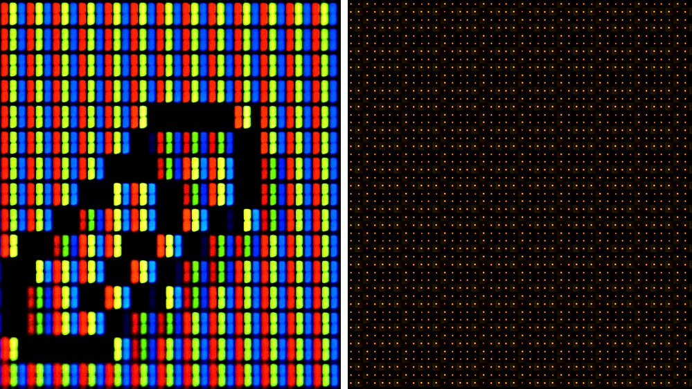 Scientists Created A Display With Pixels A Million Times Smaller Than Those On A Smartphone