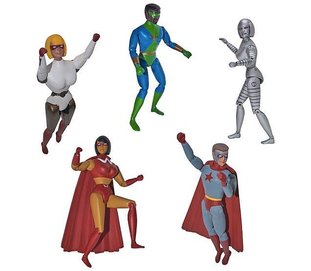 Blank Action Figures Let You Customise Your Own Superheroes
