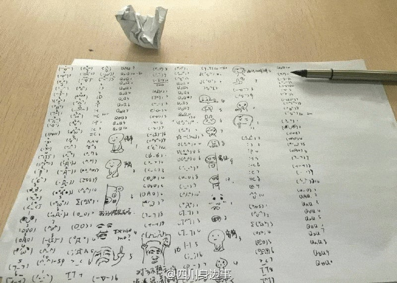 College Students Punished with Emoticons