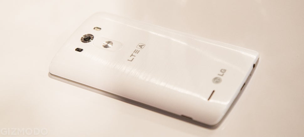 LG G3 Hands-On: Glorious Hardware, With Software That's Actually Usable