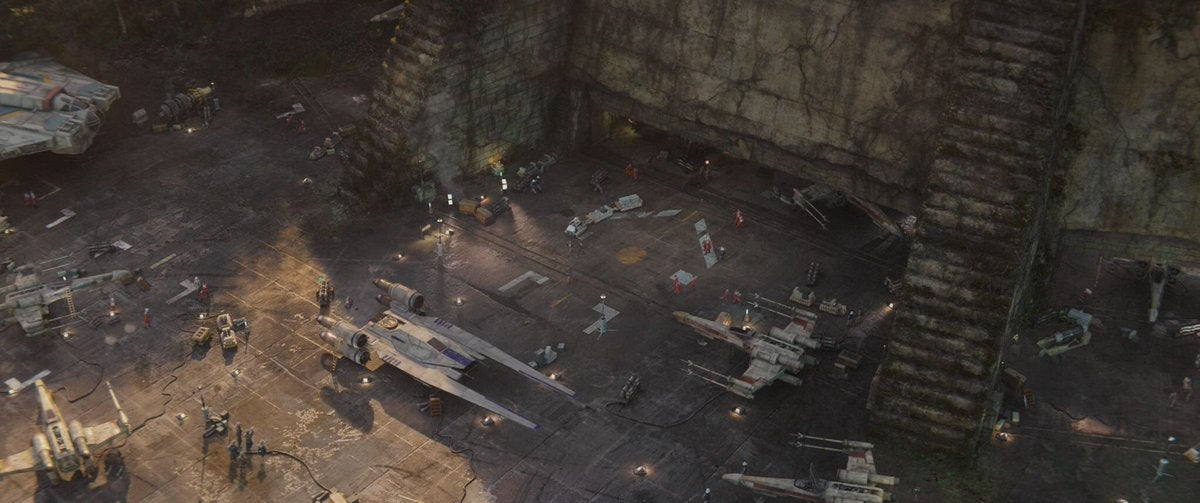 AddingRebels Ships To Rogue One Was More Than Just An Easter Egg