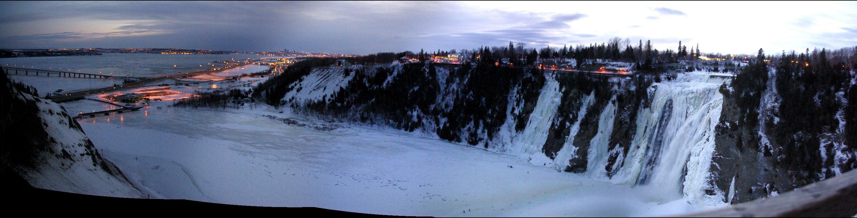 Climbing Quebec's Frozen Waterfalls