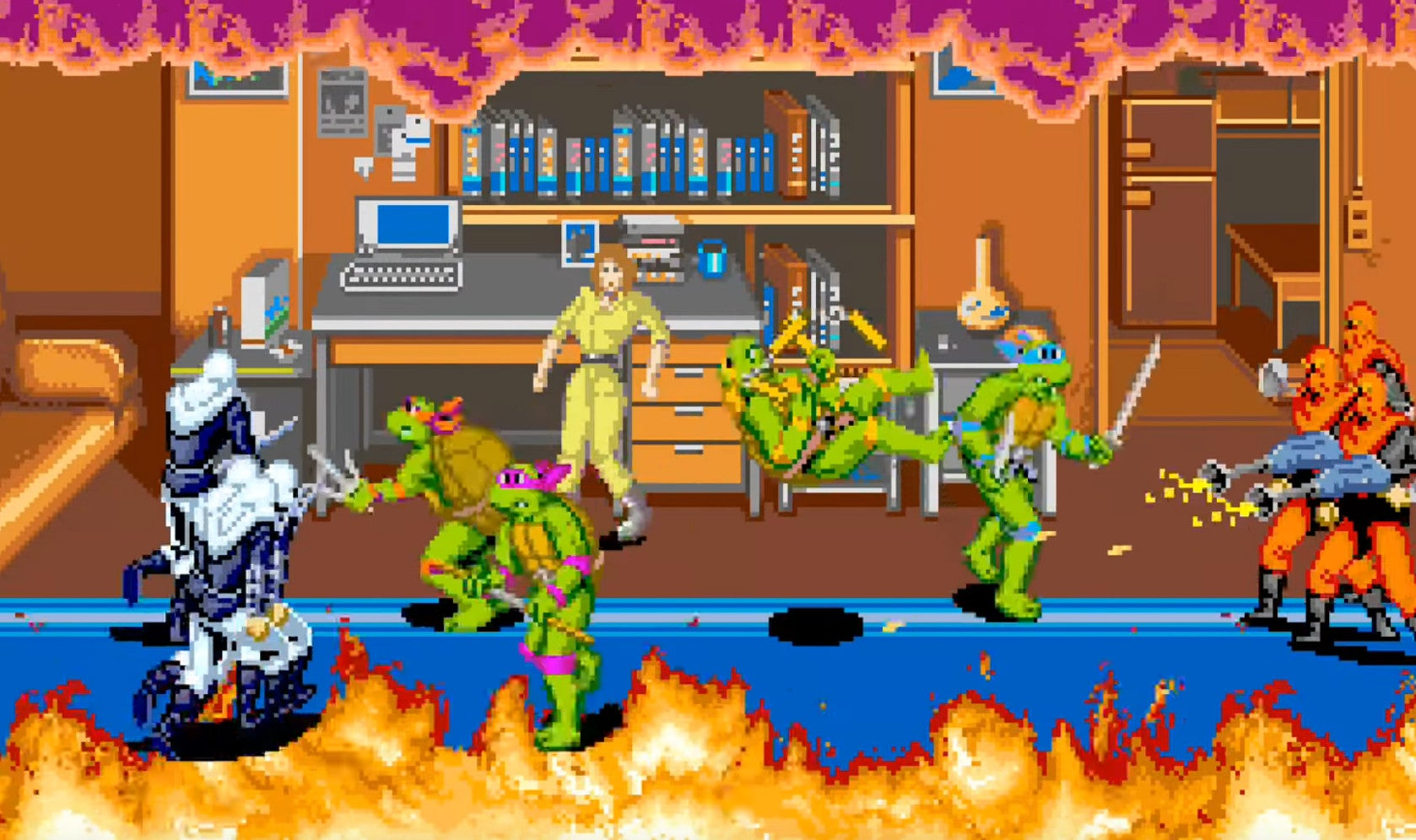Teenage Mutant Ninja Turtles Was Arcade Co-Op Action At Its Finest