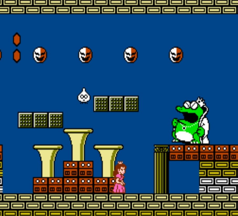 super mario bros 2 all enemies
