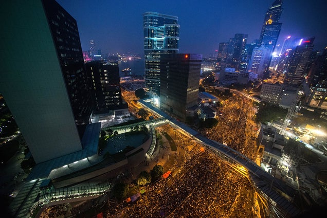 Hong Kong Protests Draw Resident Evil Comparisons