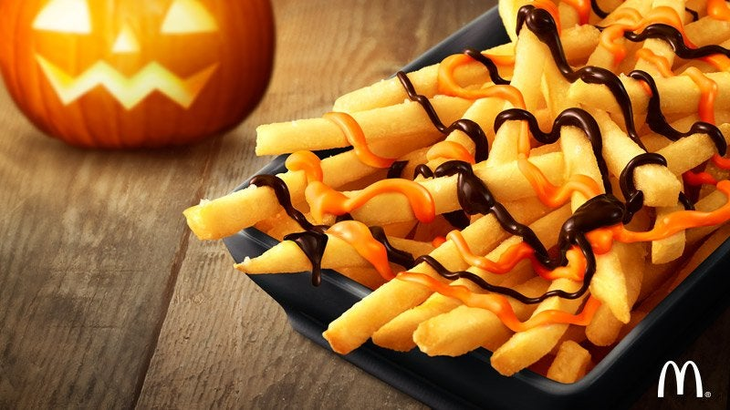 Chocolate Pumpkin French Fries Coming To McDonald's In Japan