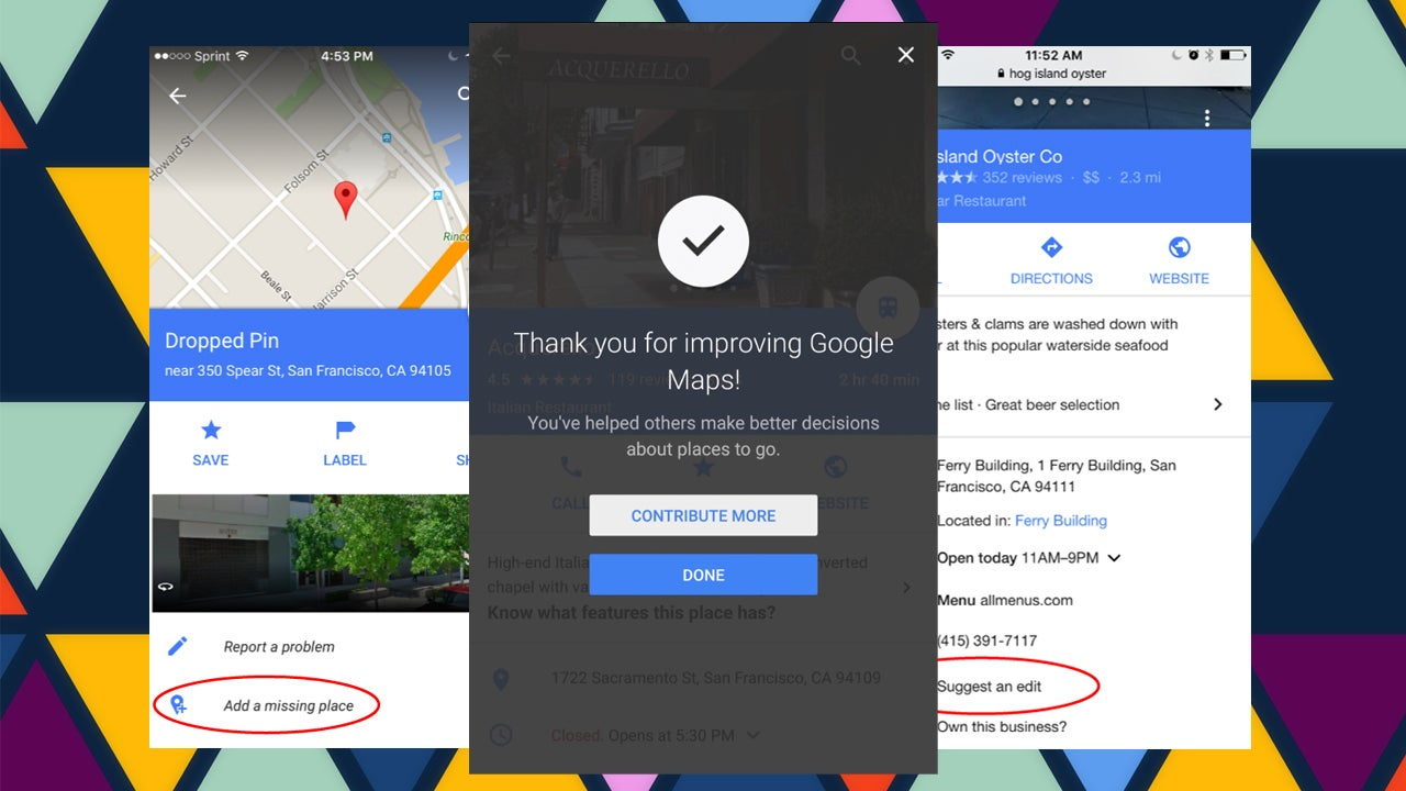Google Maps Makes It Easier To Suggest Edits, Share Details About Places