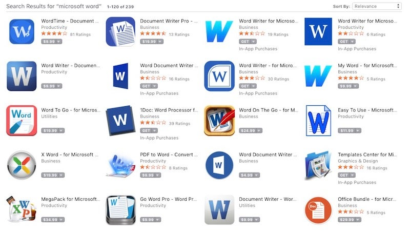 Reminder: The Mac App Store Is Filled With Scammy Apps
