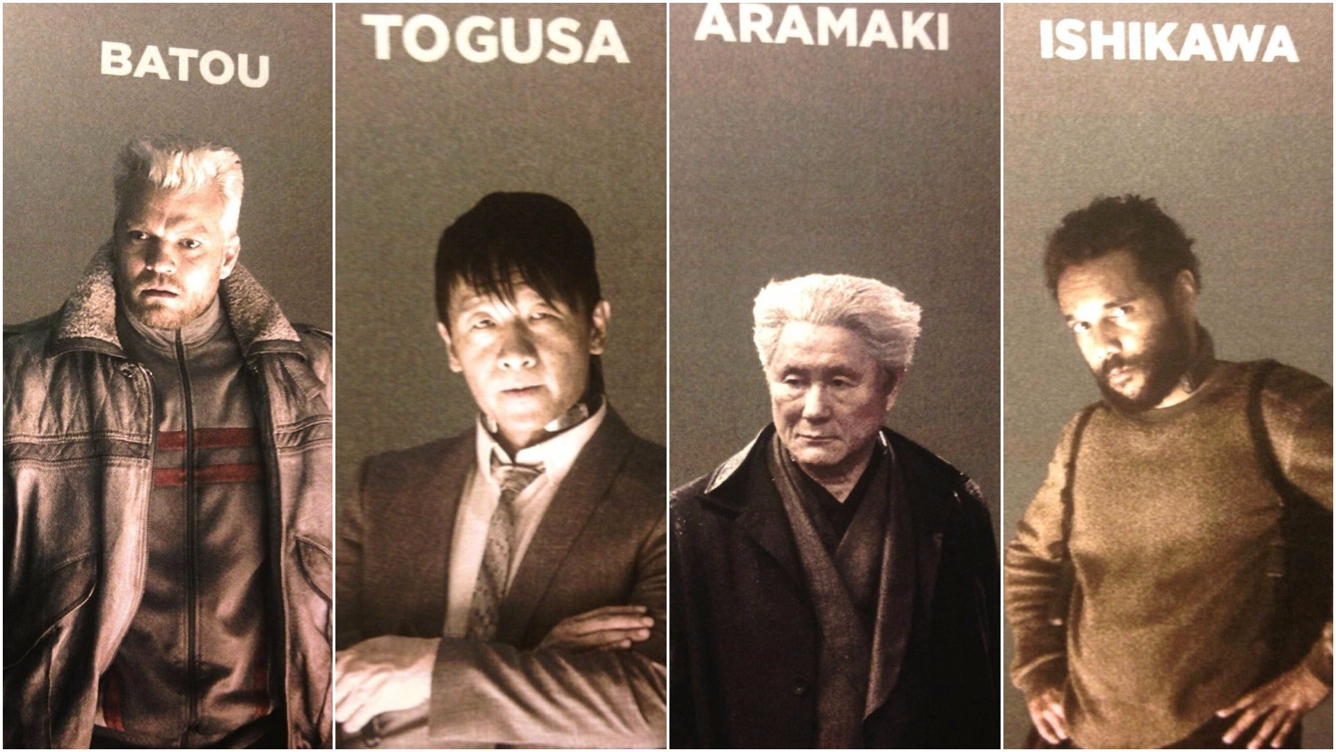 Hollywood's Ghost In The Shell Cast Photos Apparently Leaked
