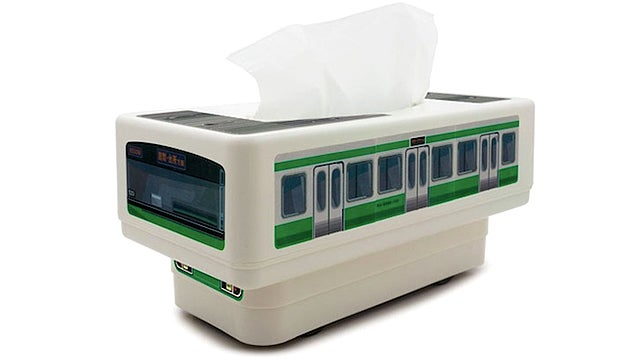An RC Train That Delivers Tissues When You're Too Sick To Get Up