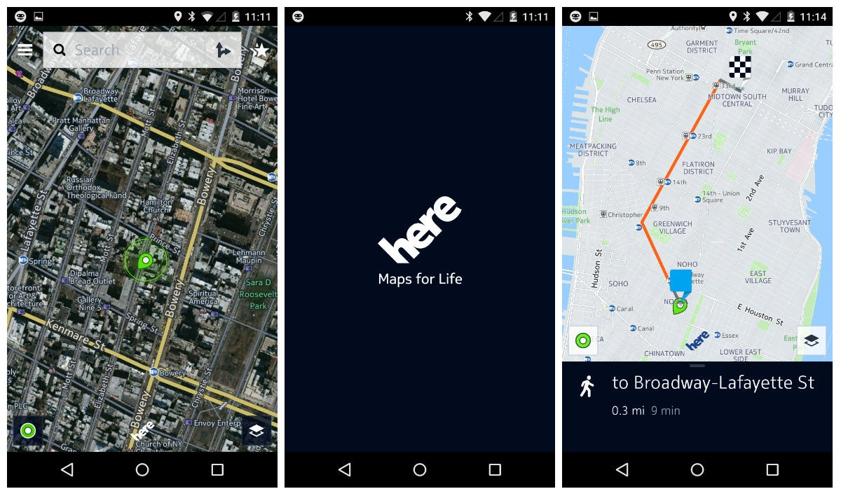 HERE Maps Beta Will Challenge Your Google Maps Loyalty