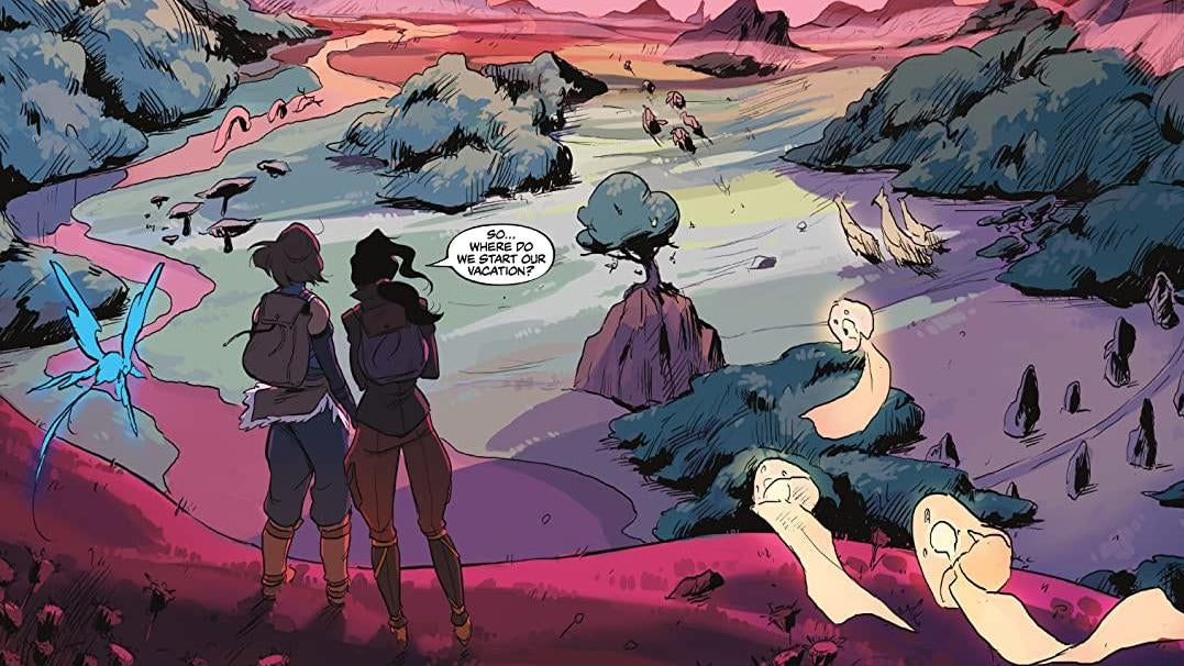 Legend Of Korra's Live Read Let Us Watch Korra And Asami Be Adorably Loveable