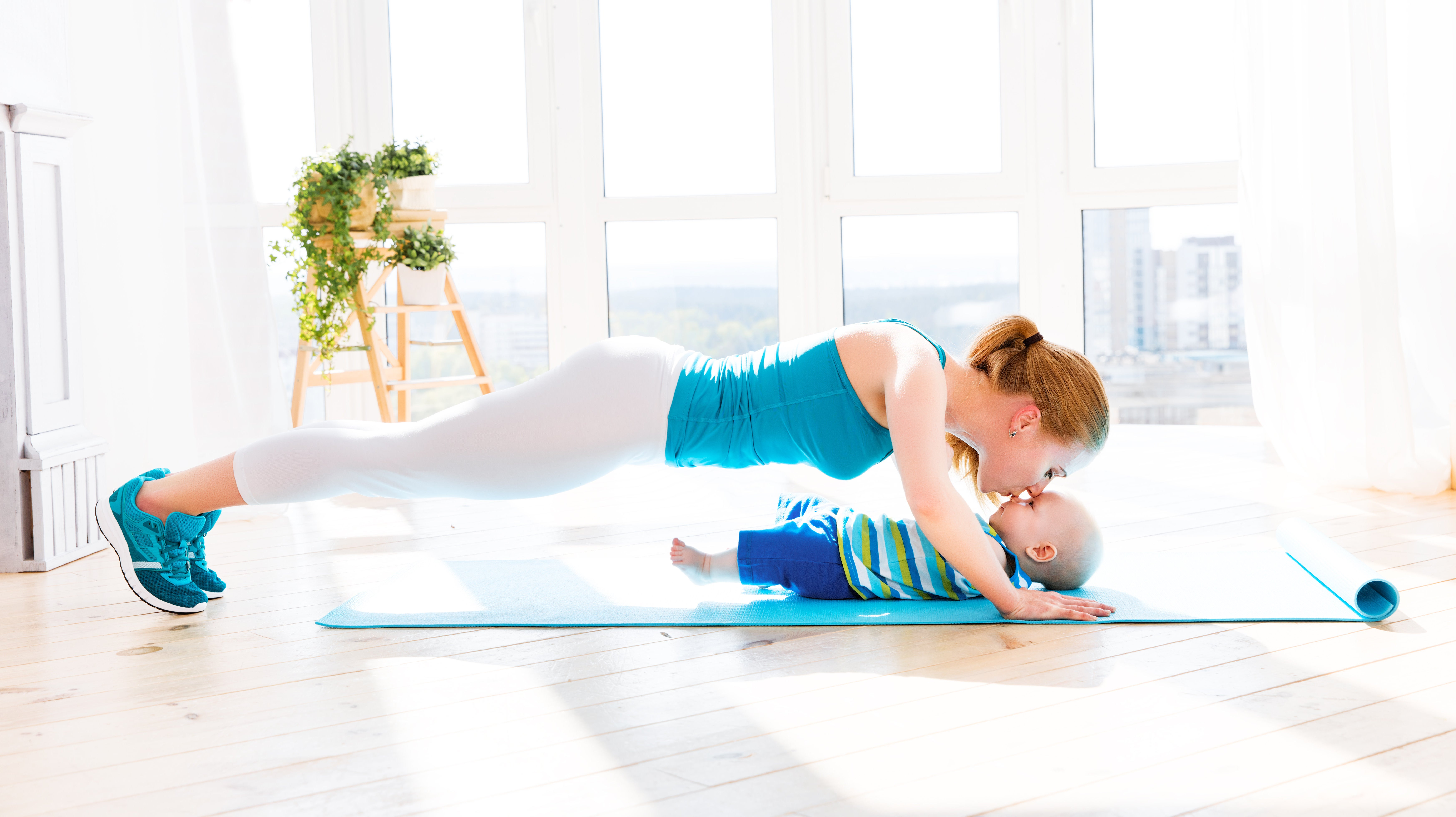How To Work Out With A Toddler Around
