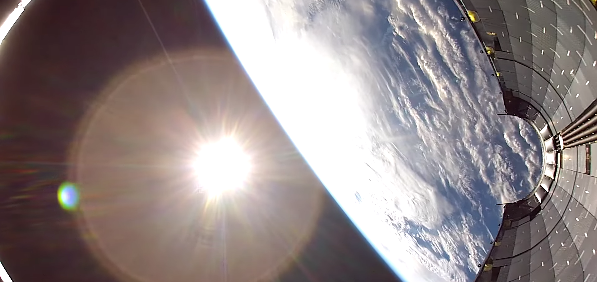A GoPro's Oddly Soothing Fall From Orbit