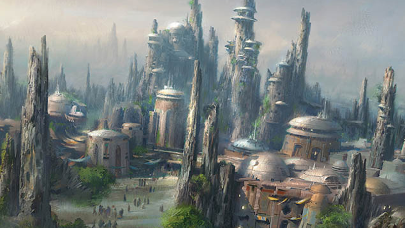 The Star WarsDisney Land Is Basically Getting Its Own Corner Of The Expanded Universe