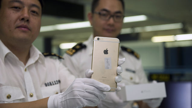 China Is Cracking Down On Imported iPhone 6s