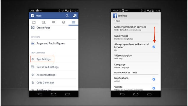 How to Disable Facebook's In-App Browser and Use Your Preferred One