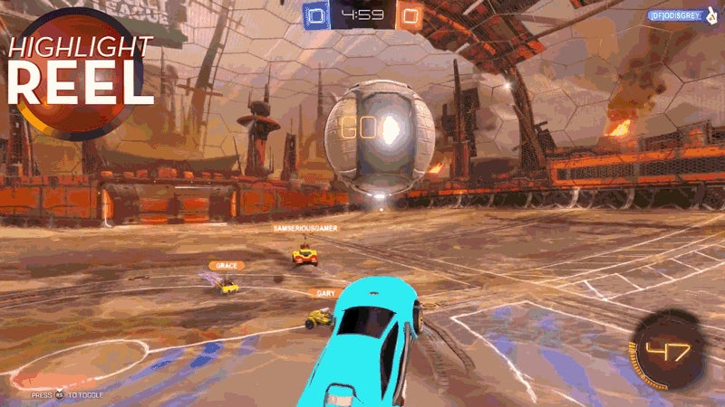 If Rocket League Had Some No Man's Sky In It