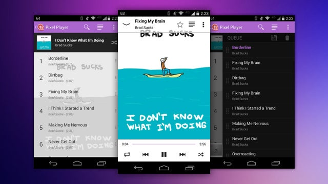 Pixel Player is a Highly Customisable Player for Local Music