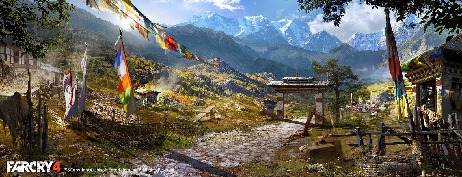 The Beautiful Art Of Far Cry 4