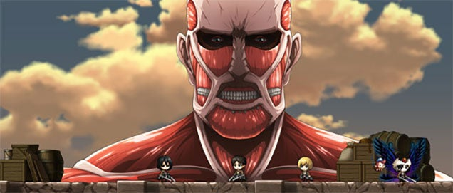 Attack On Titan Comes To… MapleStory