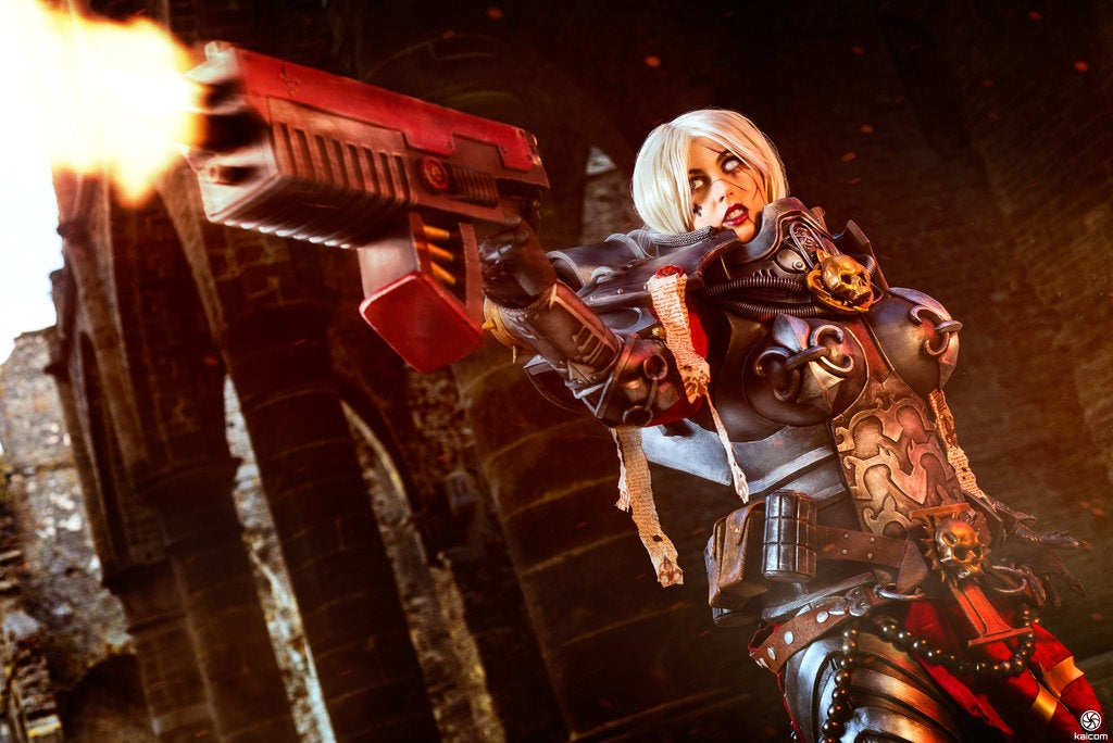 The Lady-Killer Of Badass Cosplay