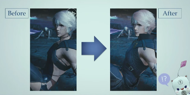 Square Changes Final Fantasy Character To Show Less Butt