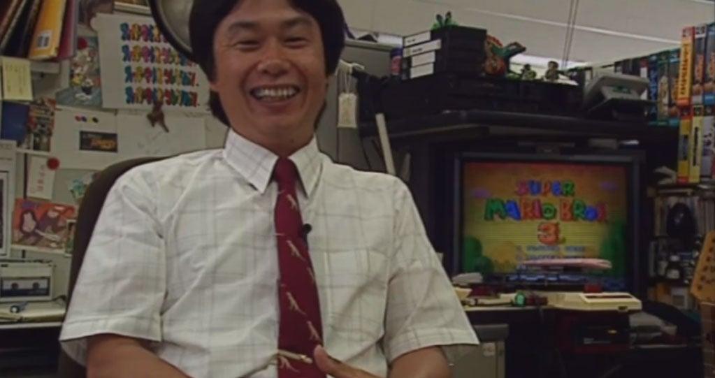 1994 Nintendo Documentary Gives Us A Look At Miyamoto's Desk