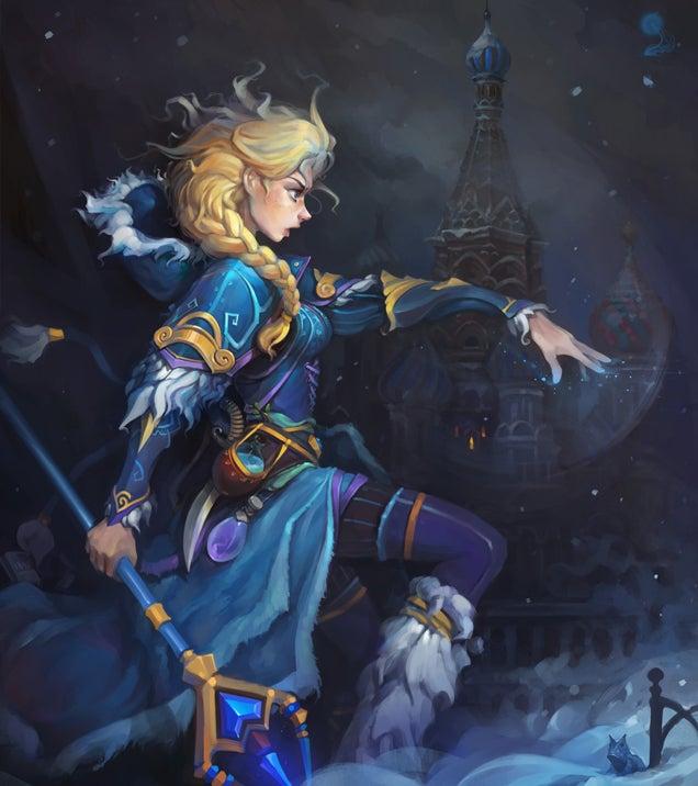 Dota Heroes Illustrated In Disney Style