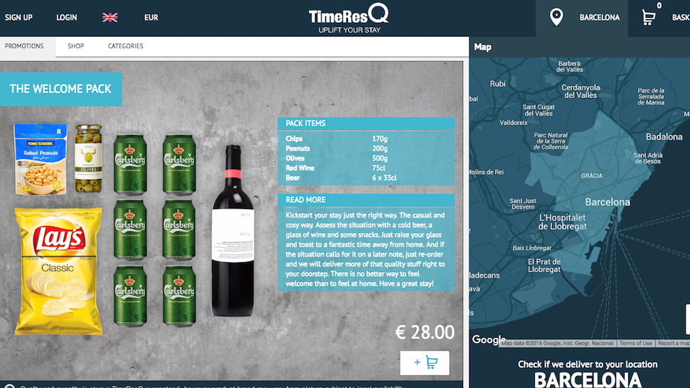 TimeResQ Saves You Time, Brings You Groceries And Supplies While You're On Holiday