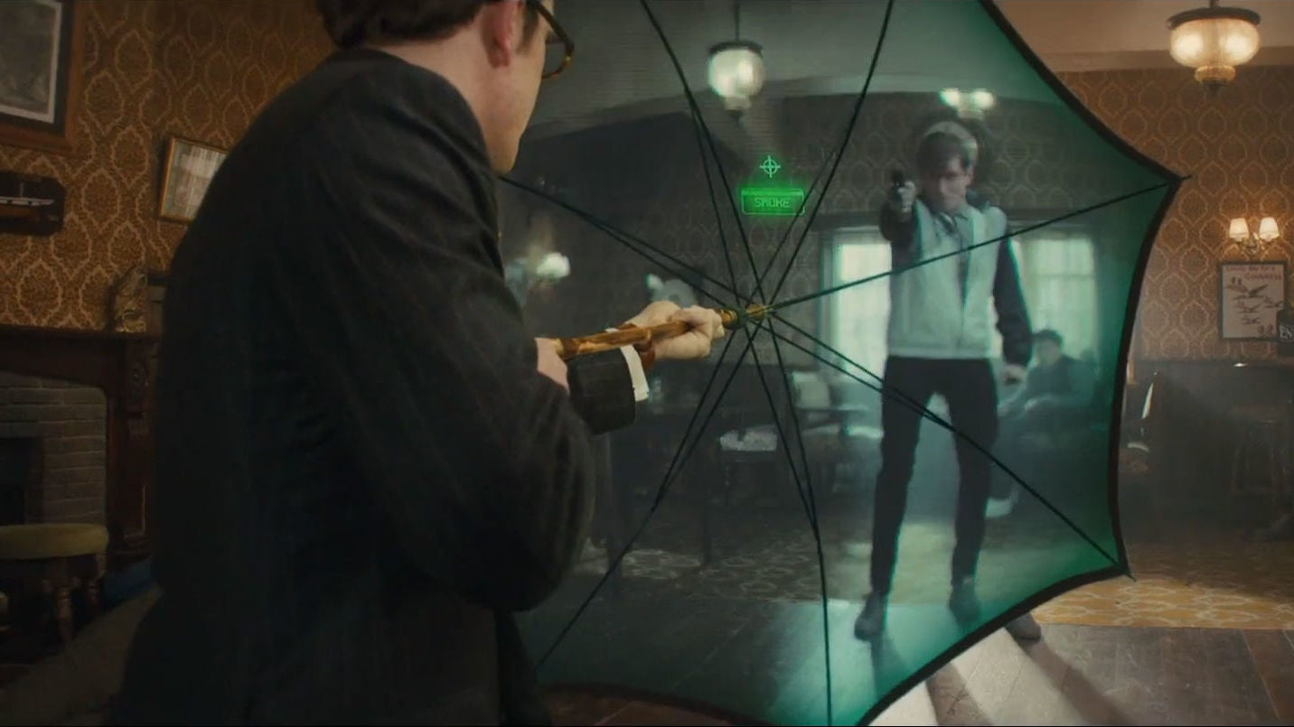 This Real-Life Umbrella Gun Would Make A Kingsman Proud