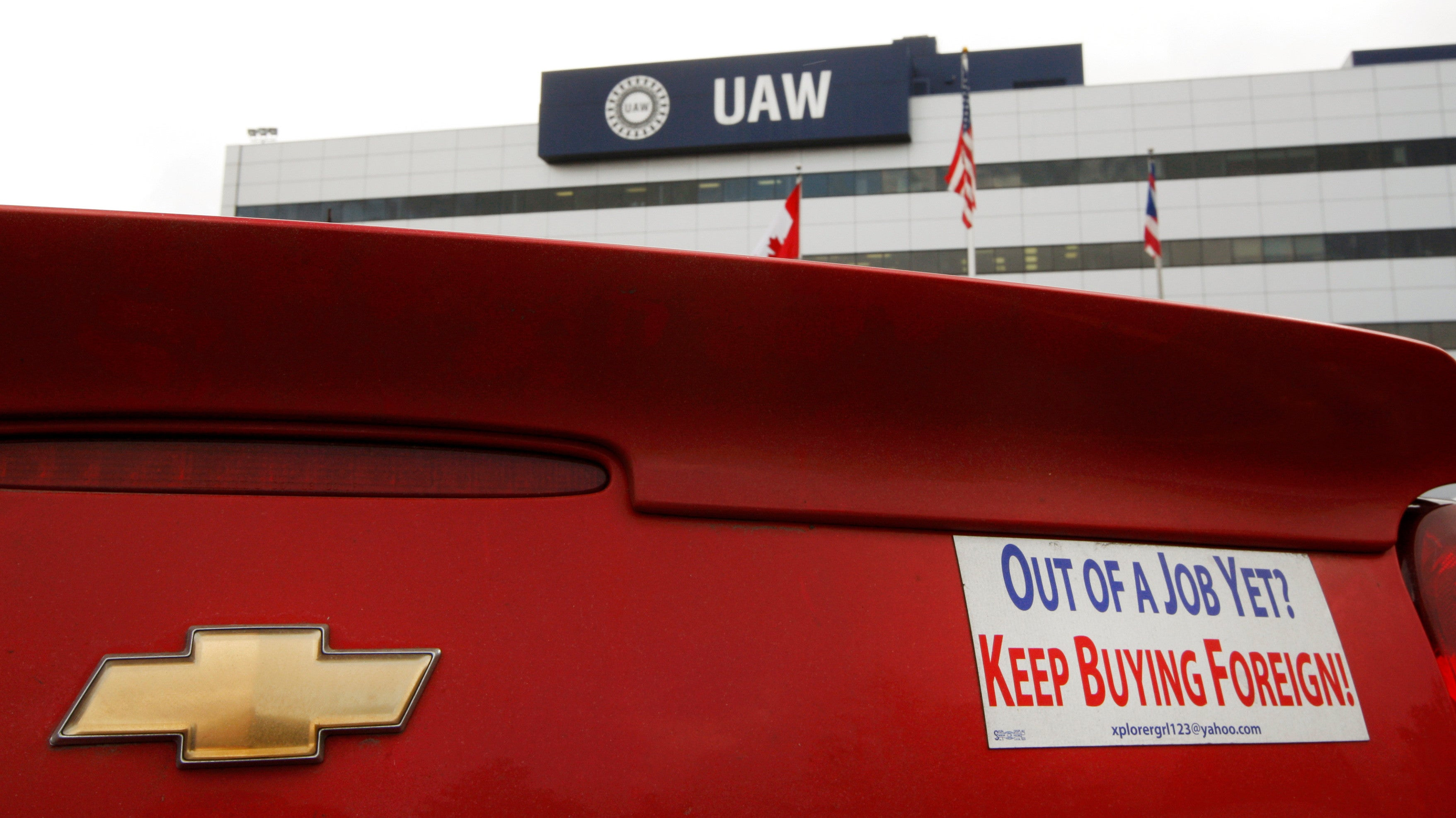 The UAW's Humiliation Is Almost Complete
