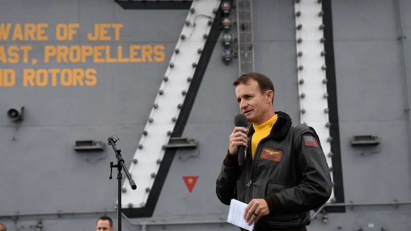 Fired U.S. Navy Captain Who Fought To Get Sailors Off Carrier Tests Positive For Covid-19: Report