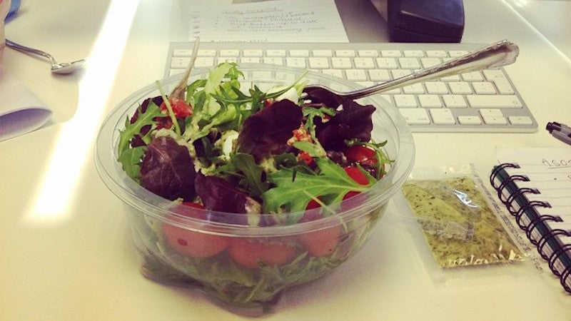 Stop Eating Lunch At Your Desk