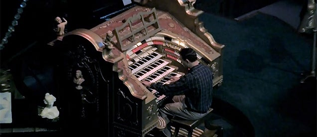 You must watch this amazing guy playing Star Wars in a pipe organ