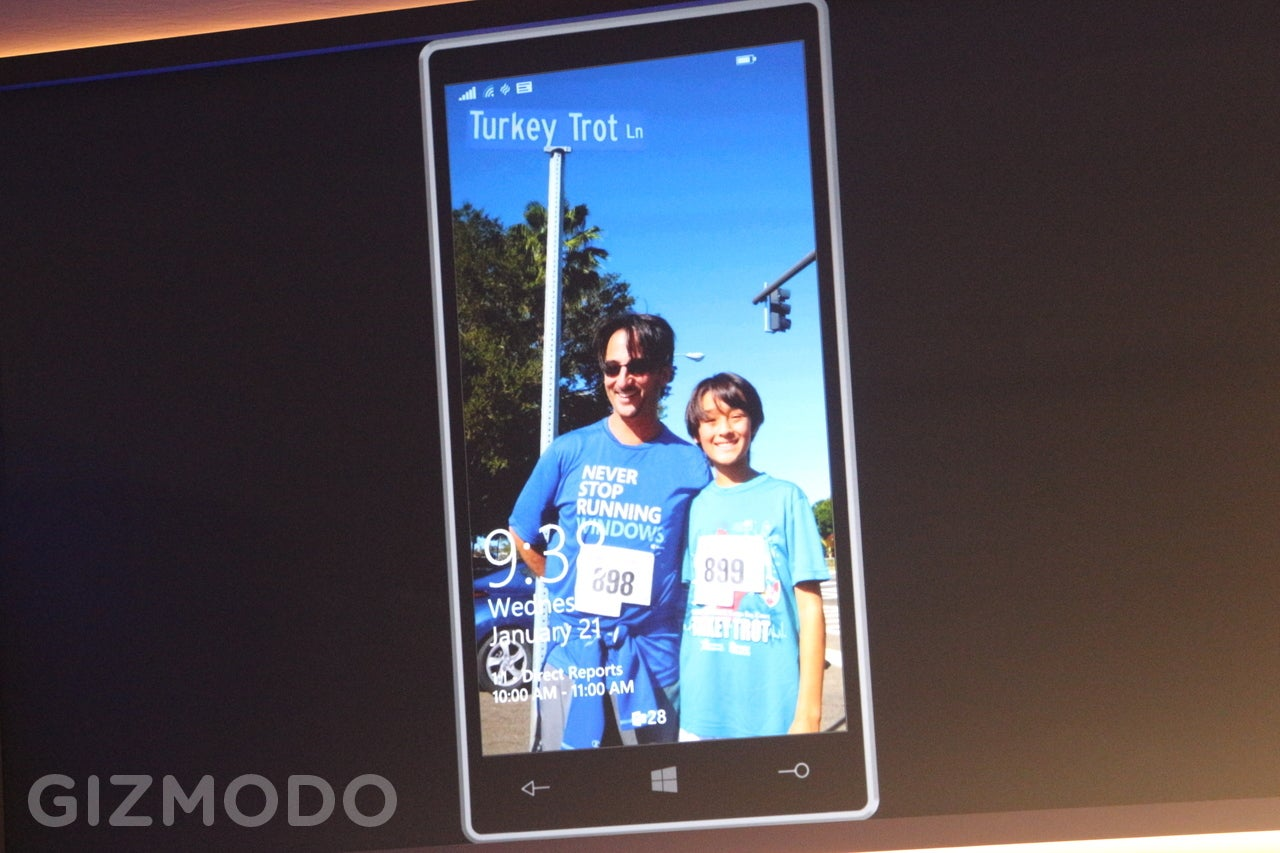 This Is What Windows 10 Looks Like on a Phone