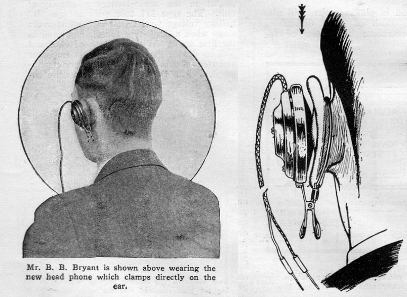 These Headphones From 1927 Look So Much Worse Than Earbuds