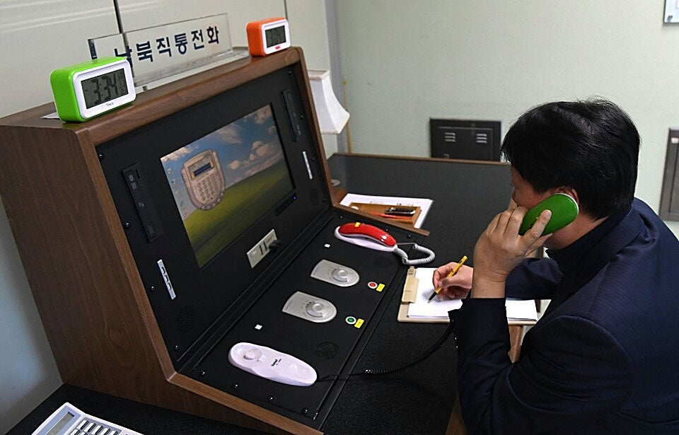 North Korea Reopens Phone Line With South Korea, And The Phones Sure Are Weird
