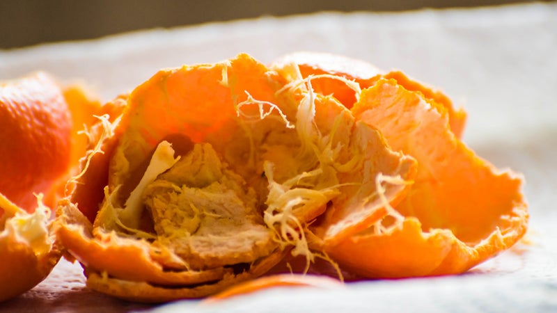 Deodorise Your Dishwasher With Leftover Citrus Peels